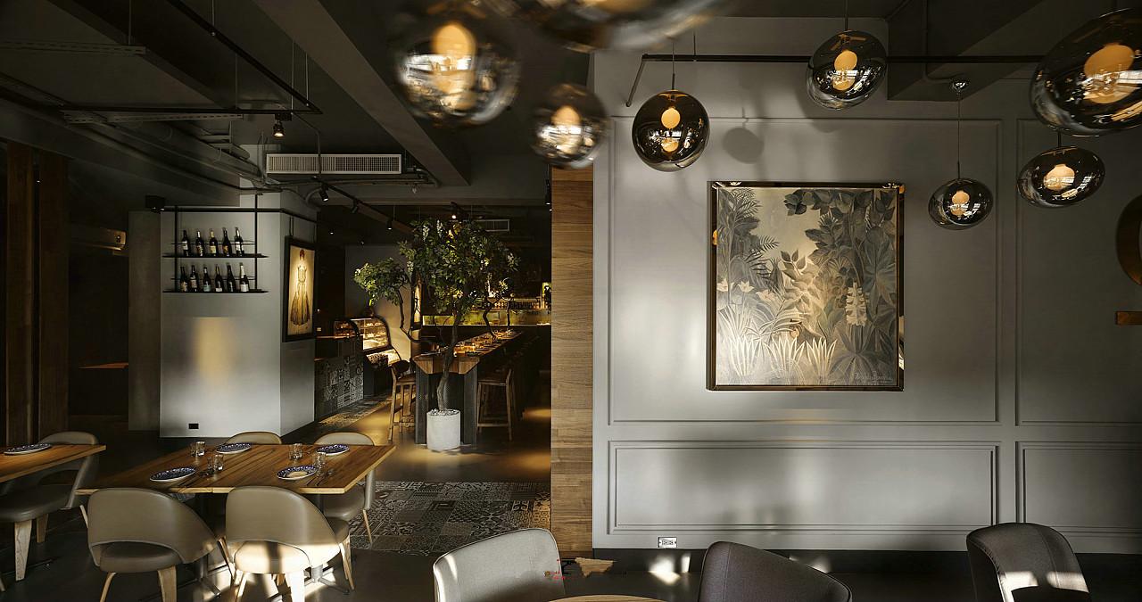 温江西餐厅设计-温江西餐厅装修公司图片