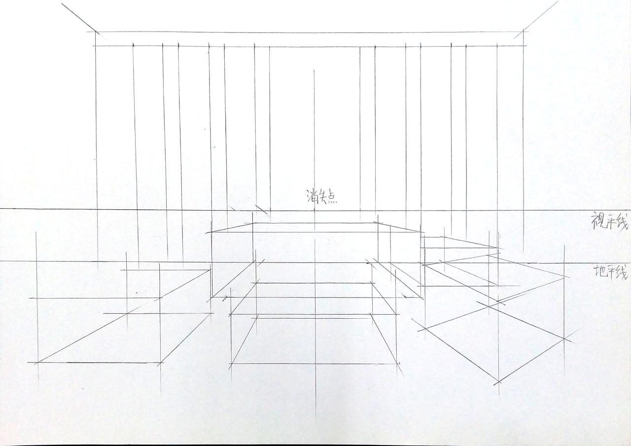 室内效果图表现|空间|室内设计|一叶手绘 - 原创作品