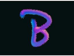 混合工具彩虹字