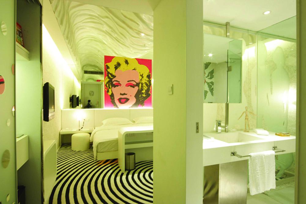 杭州风尚酒店设计 安顺酒店设计 成都红专设计