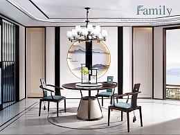 新中式家具摄影-(沙发/床/椅子/桌子/柜子)