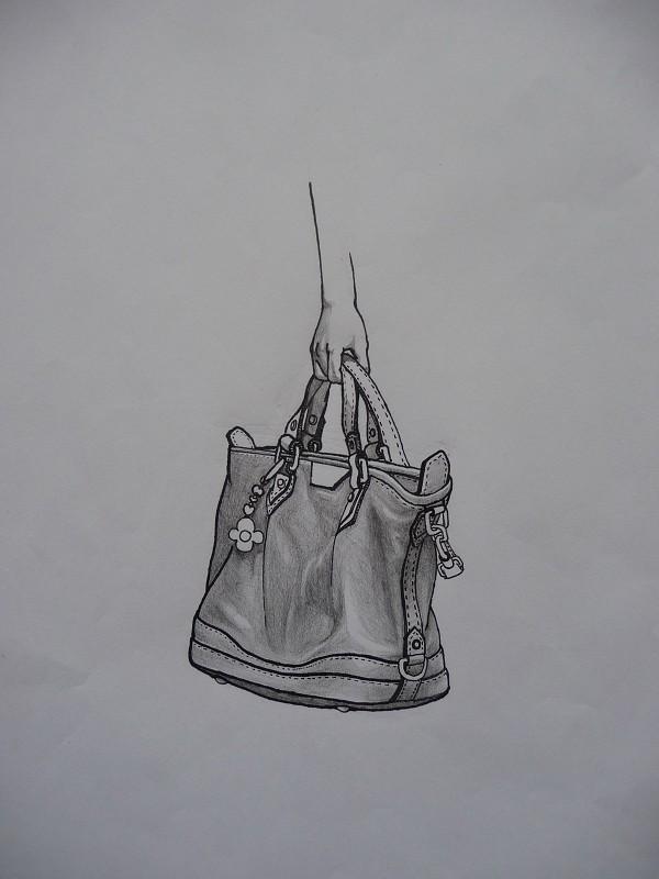 自己画的服装类手绘图