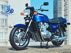 田宫16019 1:6 Kawasaki 川崎Z1300六缸摩托