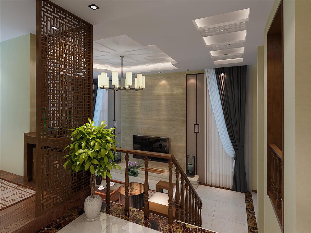 新中式别墅设计图片