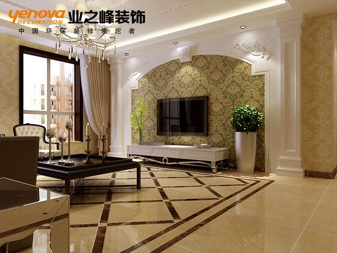 【啟銳園洋房裝修】啟銳園洋房206平米歐式風格設計