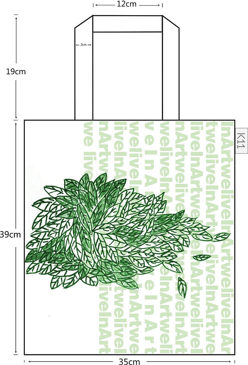环保手提袋设计作品图片