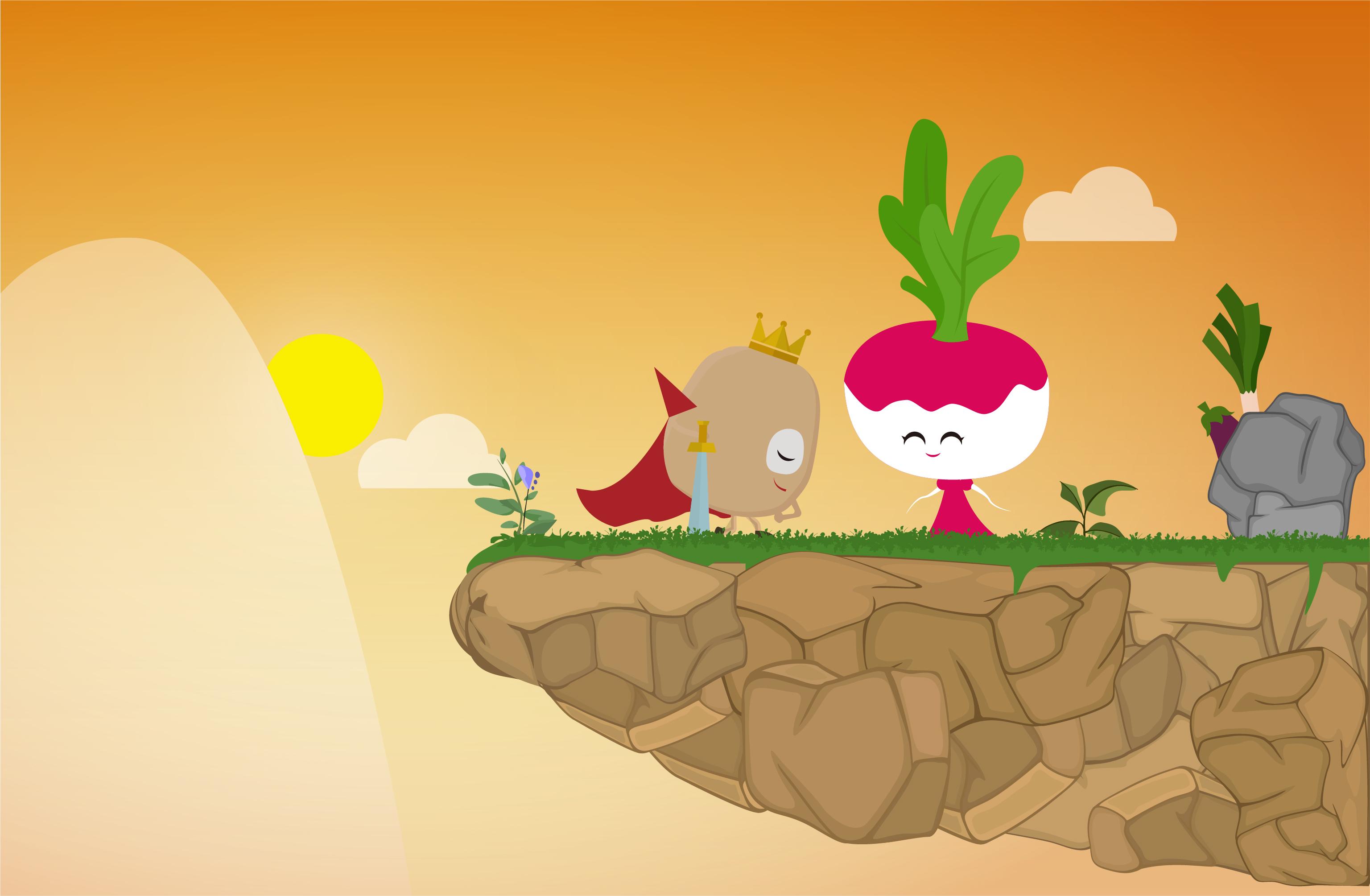 土豆logo卡通形象设计 卡通画故事图片