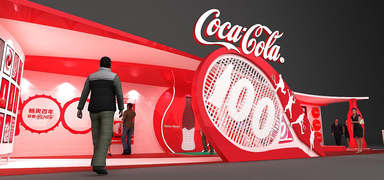 可口可乐百年展图片