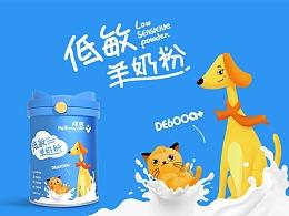 产品精准差异化,英国拜恩宠物奶粉包装换新升级!