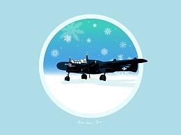 P-61黑寡妇。