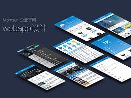 企业官网webapp设计