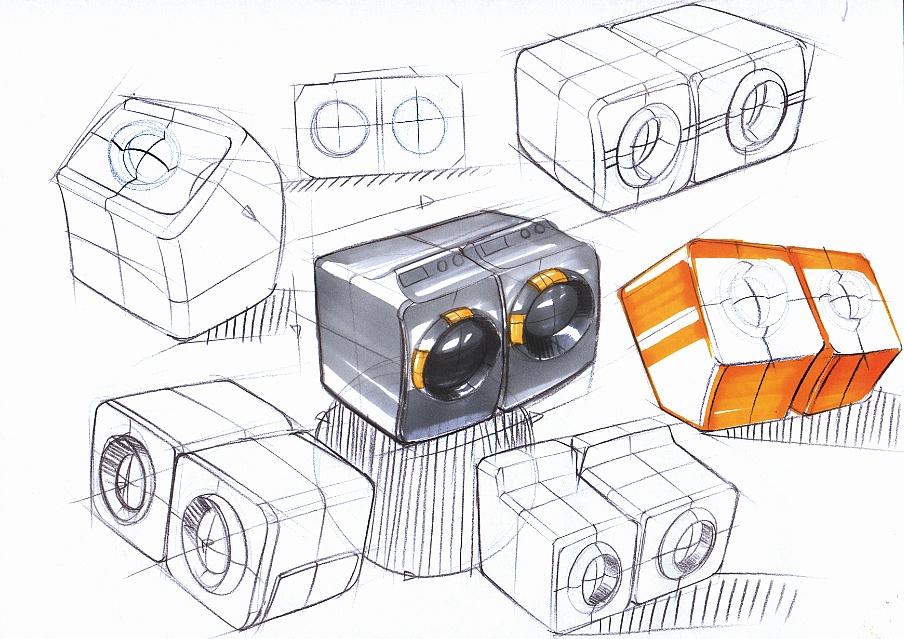 工业设计手绘手稿|工业/产品|其他工业/产品|黄飒图片