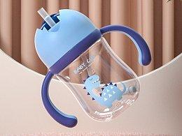 产品渲染   奶瓶渲染练习
