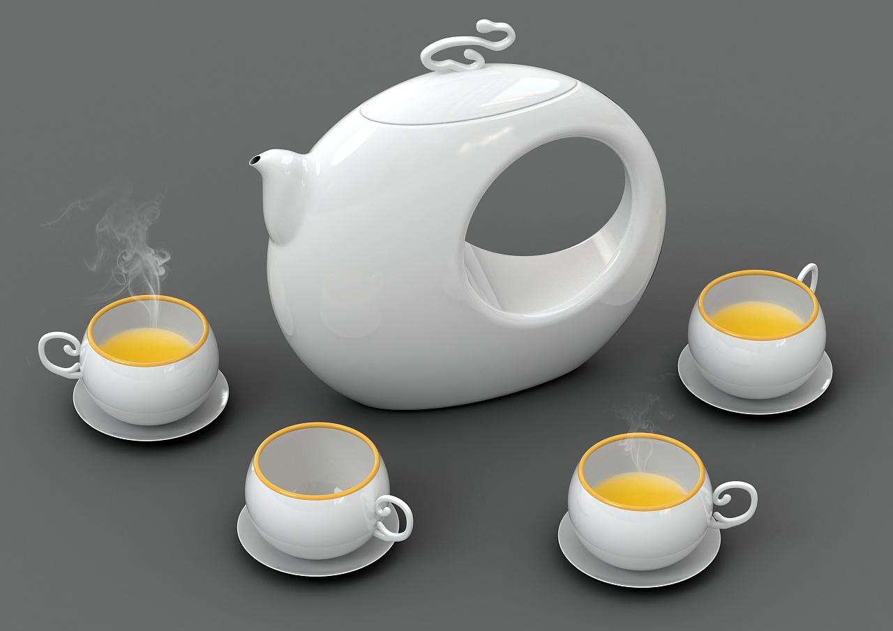 创意茶具设计图片