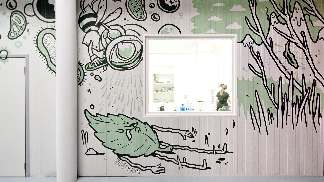 墙体手绘-天唐墙绘公司用心创造-3d立体墙体手绘图片大全