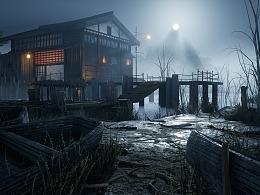 虚幻4《湖光》
