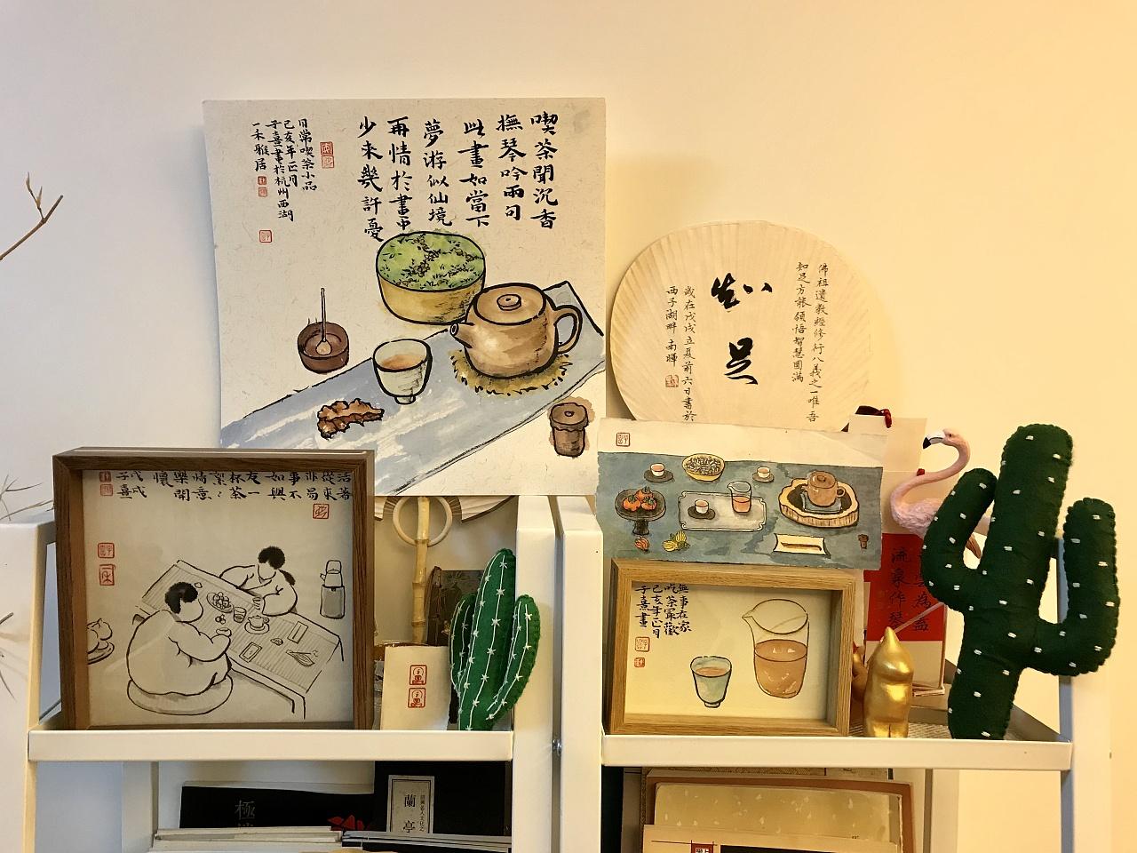 日常书画小品合集二|纯艺术|国画|milaky - 原创作品图片