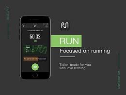 [RUN] -轻量级跑步APP设计