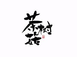 茶树菇包装字体设计