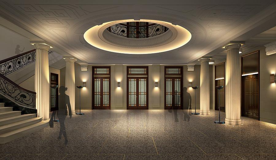 某博物馆室内灯光设计
