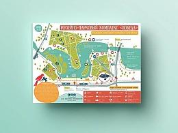 【海平面】精美地图的视觉设计及构图法(一)