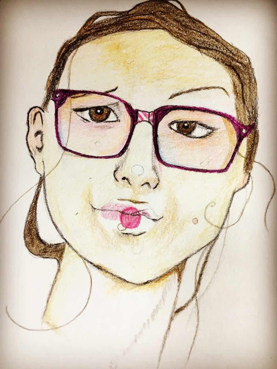 手绘作品-艺术照