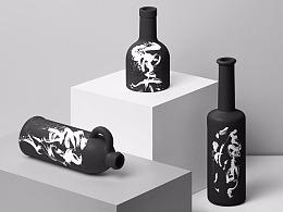 书法字体设计-黄陵野鹤-水墨字境研究-11(激昂水墨)