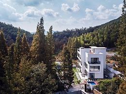 酒店建筑拍摄-莫干山映拾山度假酒店
