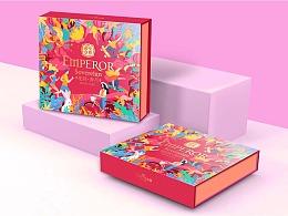 广州巨灵:帝皇至尊2021月饼包装设计