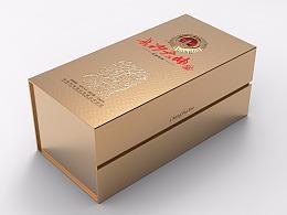 酒盒包装设计效果图展示