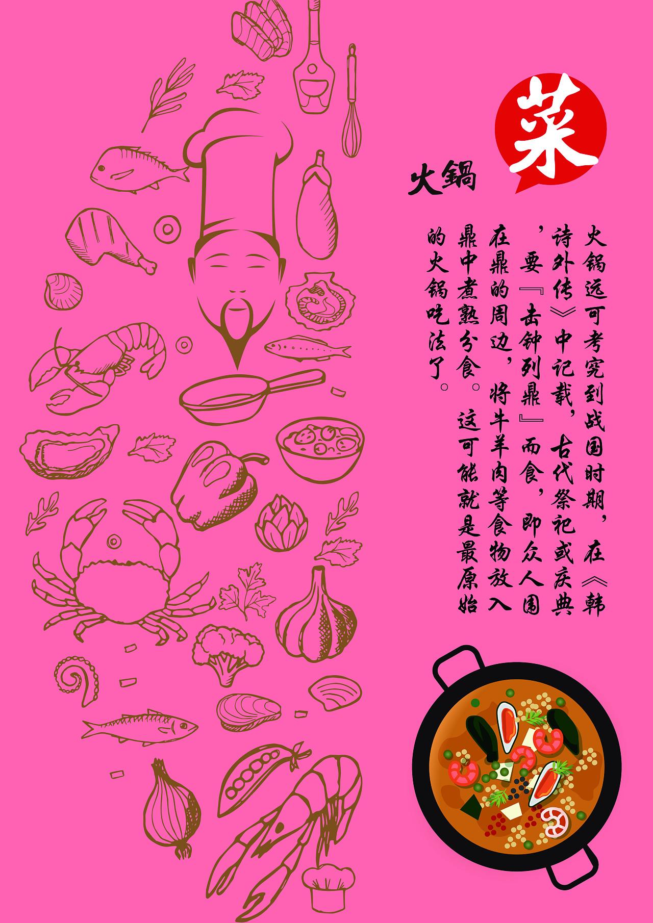 火锅海报图片