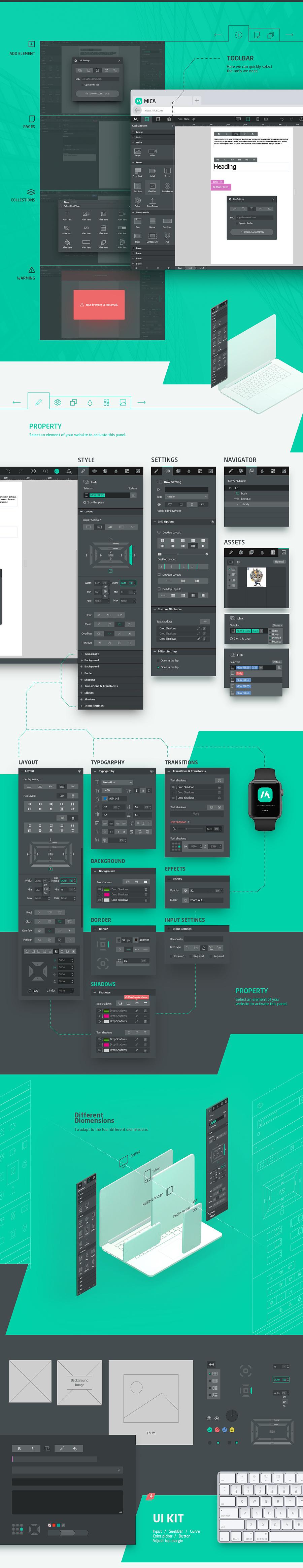 查看《| UI/UX | MICA Platform Design》原图,原图尺寸:1400x7246