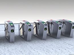人性化服务的自动检票机设计_白狐设计