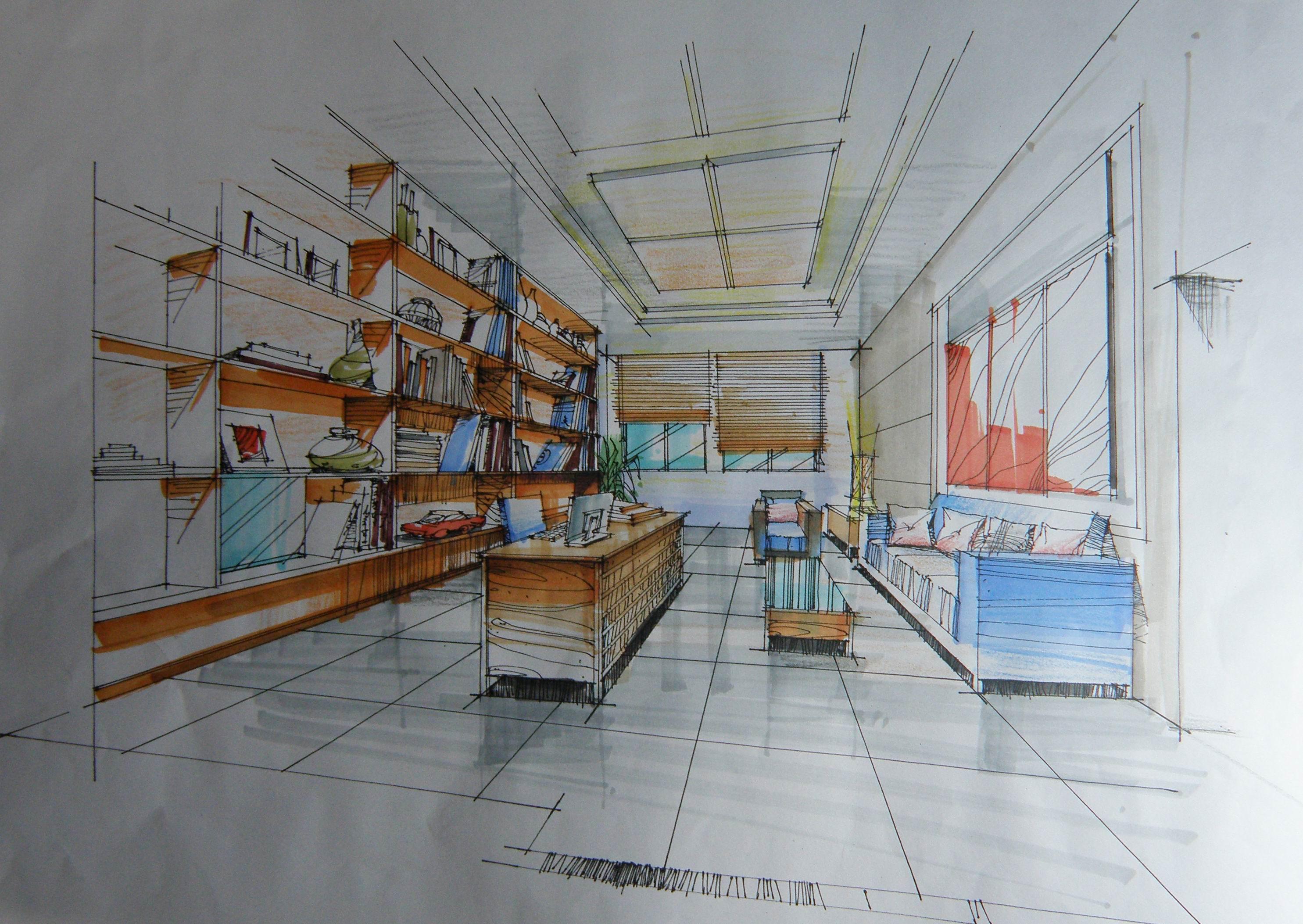 吴先生书房 空间 室内设计 金品装饰设计 - 原创作品
