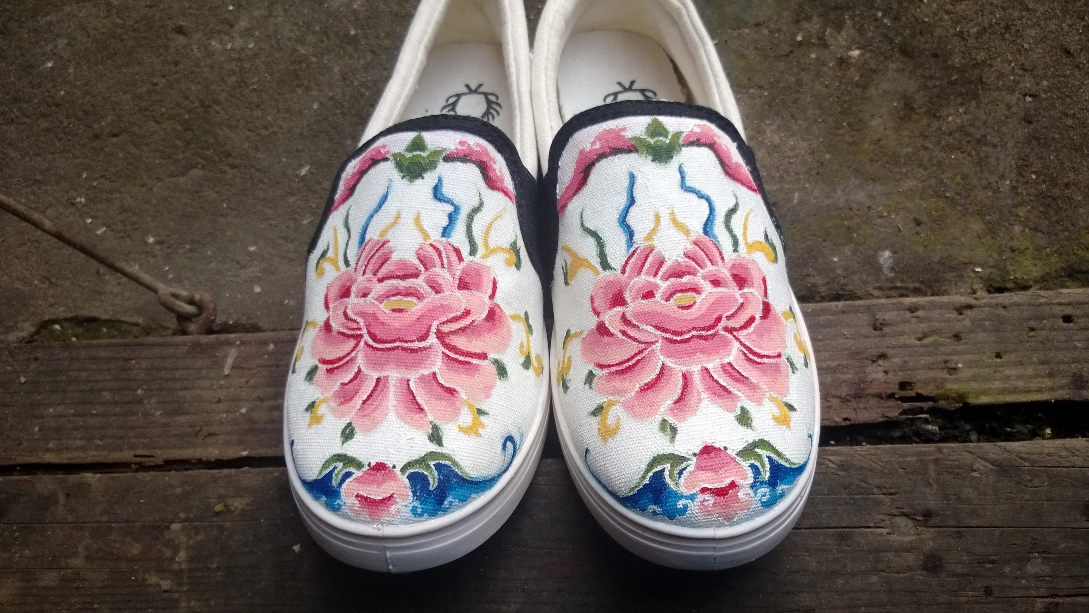 养心[手绘鞋]