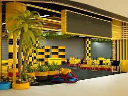 商场室内卡丁车场所设计