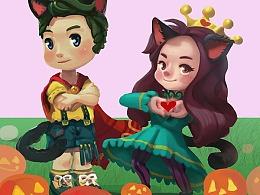涂鸦365:105:Happy Halloween 2017