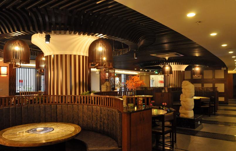 和惠日本料理店设计-甘肃日式料理店装修设计小户型装修设计效果图鞋柜图片