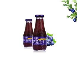 有机蓝莓果汁包装设计