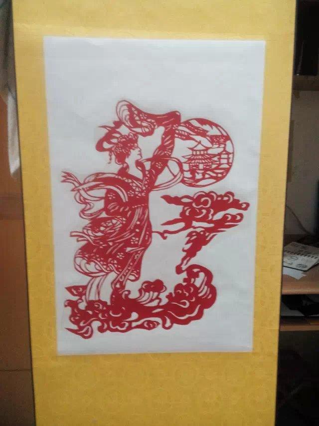 原创作品:中国民间美术刻纸