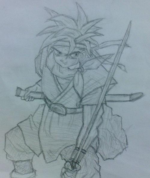漫画人物图片素描可爱-最最最最简单画小公主-素描漫画人物图片大全