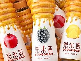 高鹏设计-果汁蜂蜜饮料包装设计