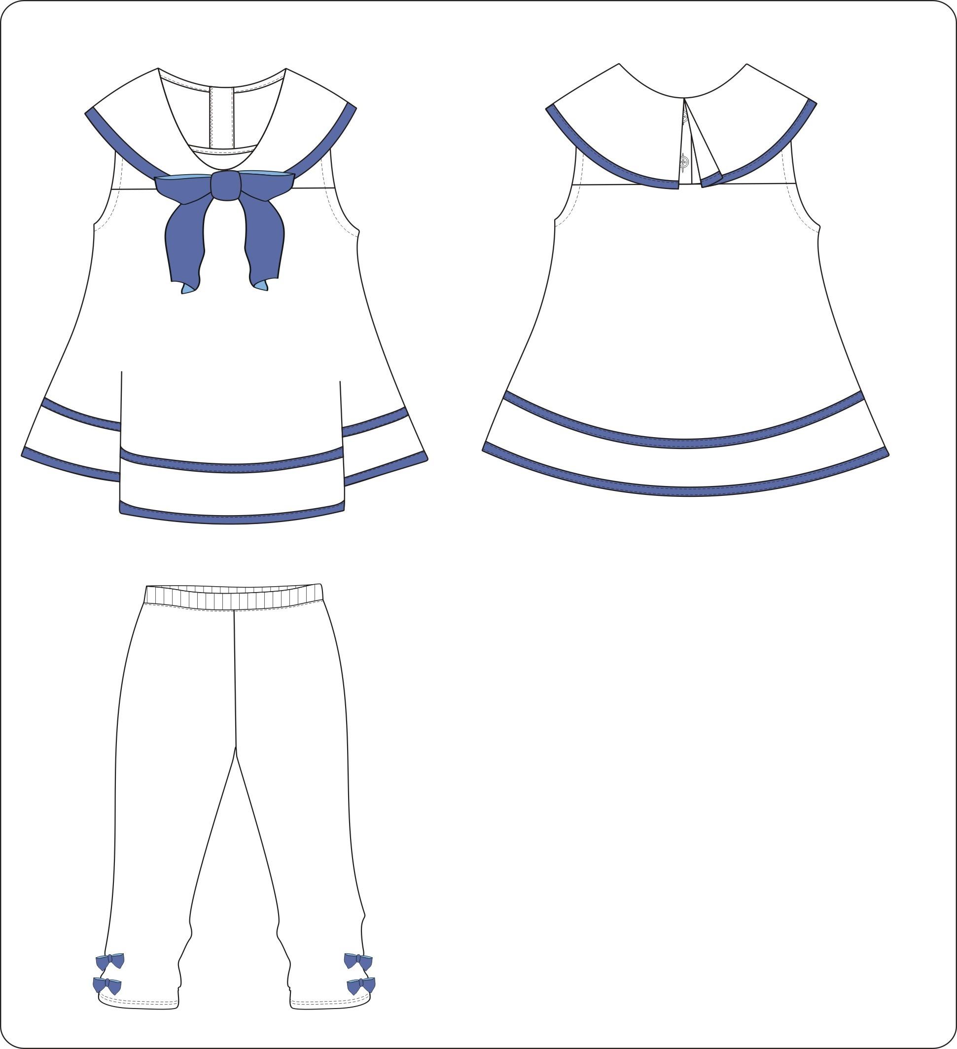 服装童装款式设计