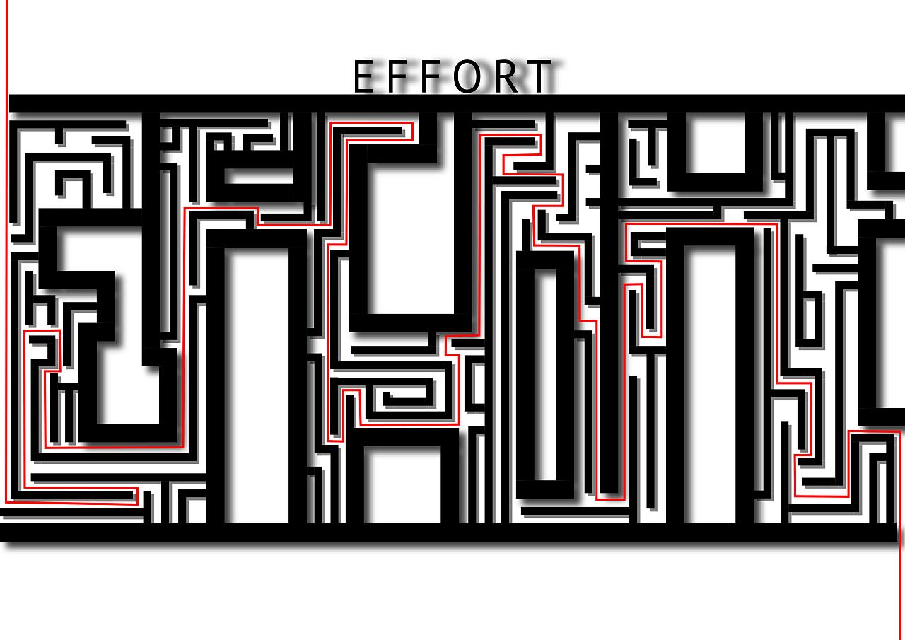 用字体建造迷宫,了解我的设计历程