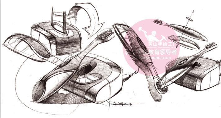 【工业设计,产品设计】工业设计考研手绘作品分享!design sketch