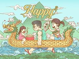 【2018父亲节+端午节】幸福三次方