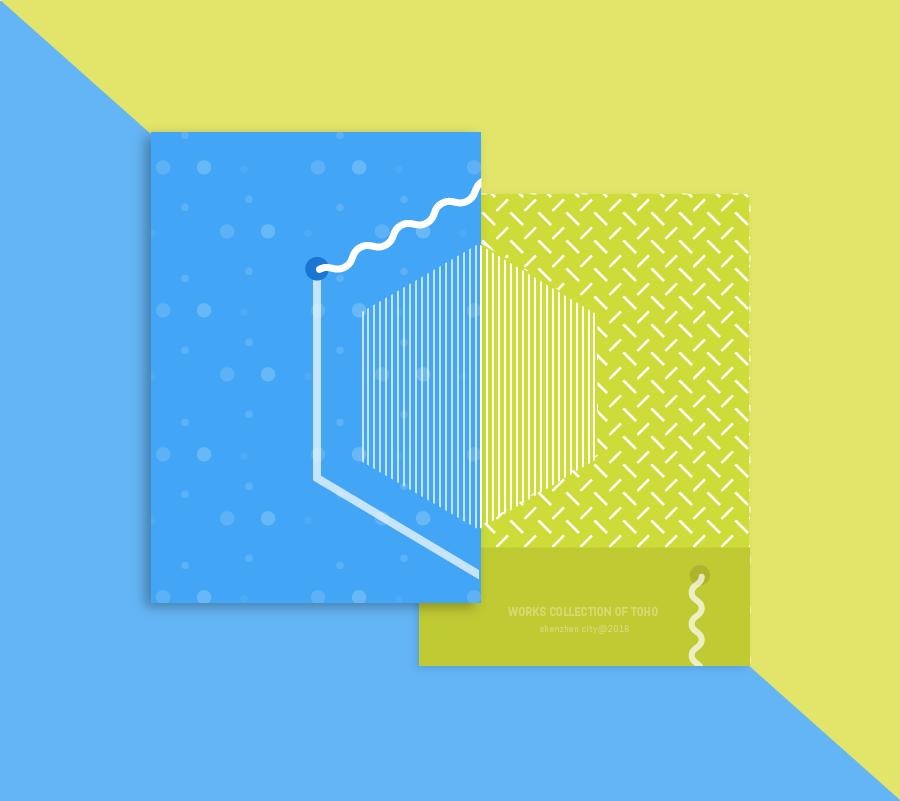 cover design for toho studio 封面设计/封套设计
