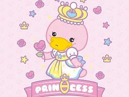 鸭嘴兽宝贝 女王节手机壁纸