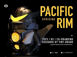 腾讯跨界联名公仔 腾讯QQ×Pacific Rim: Uprising