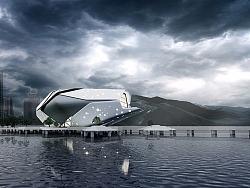 毕业设计:滨海图书馆概念设计